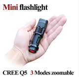 Mini Tactical Flashlight