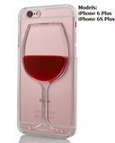 Red Wine Glass iPhone Case Cover