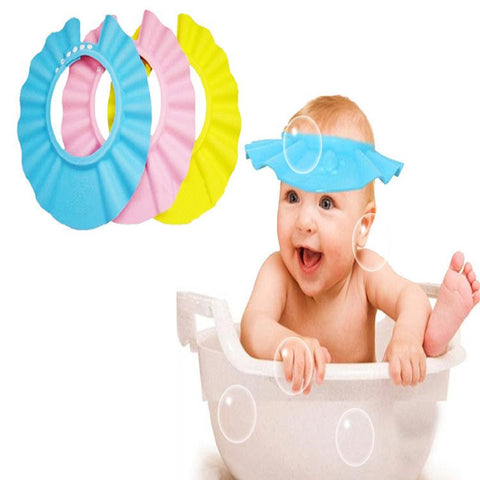 Adjustable EVA-Soft Baby Shower Cap