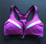 MojoFit Double Layer Zip Sports Bra