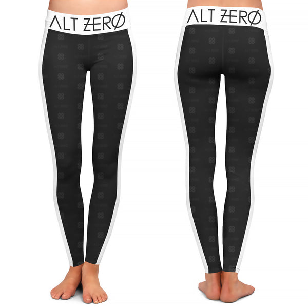 Alt Zero - Pattern Black Leggings