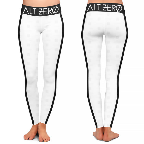 Alt Zero - Pattern White Leggings