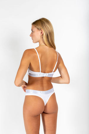 Statement triangle bra WHITE