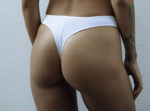 a.m cotton brazilian bottom WHITE