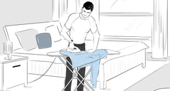 How to Iron Men's Dress Shirts