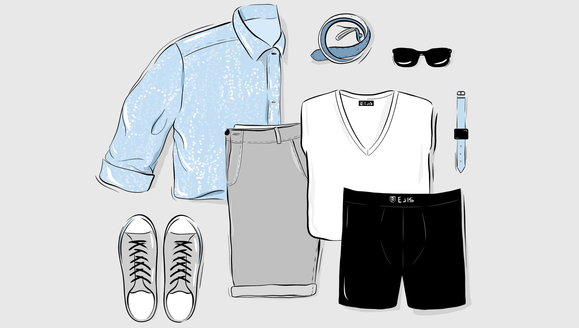 Don't Sweat The Heat! 9 Men's Summer Fashion Tips to Rock the Weekend While Maintaining Your Cool.