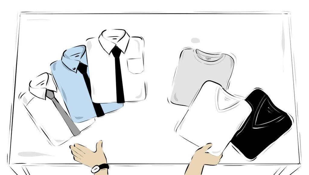 Ultimate Guide to Buying Dress Shirts and Undershirts