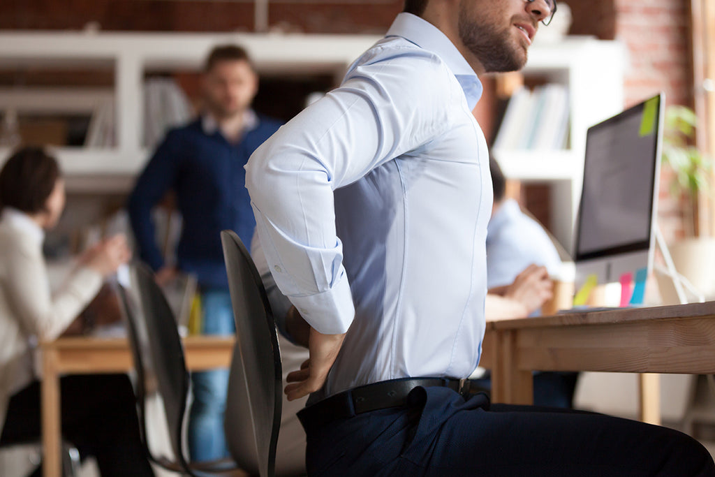 How to Stop Back Sweat - Sweaty Chair