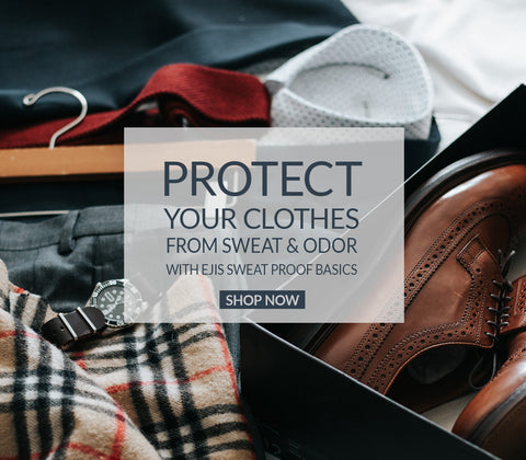 protect your clothes from sweat