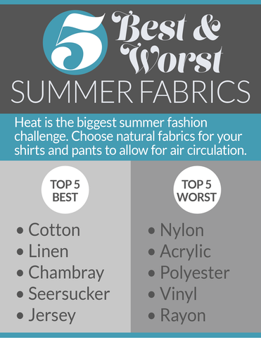 Best and Worst Summer Fabrics