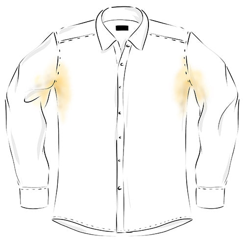 How to Prevent and Remove Armpit Stains from Shirts - Ejis