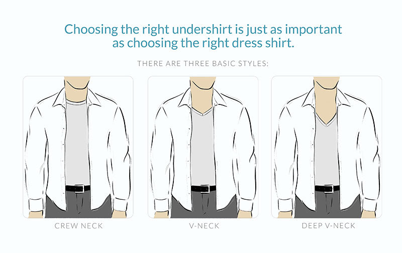 7dc8548aa29 Ultimate Guide to Buying Dress Shirts and Undershirts – Ejis