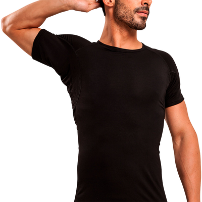 Crew Neck Micro Modal Sweat Proof Undershirt - Ejis, inc.