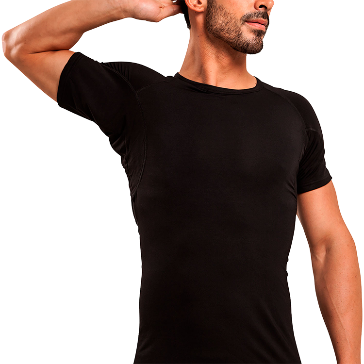 Crew Neck Micro Modal Sweat Proof Undershirt