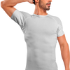 Crew Neck Micro Modal Underarm Sweat Proof Undershirt - Ejis, inc.