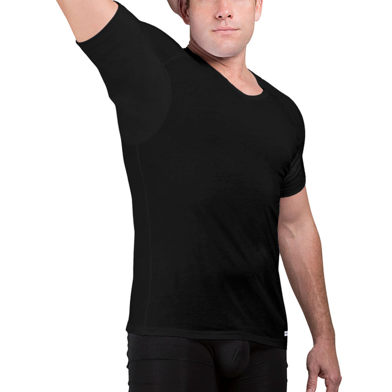 V-Neck Cotton Underarm Sweat Proof Undershirt