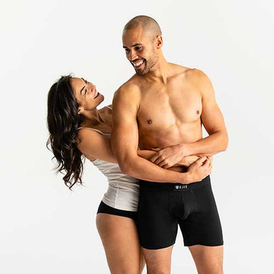 Sweat Proof Boxer Briefs Comfort Pouch - Ejis, inc.
