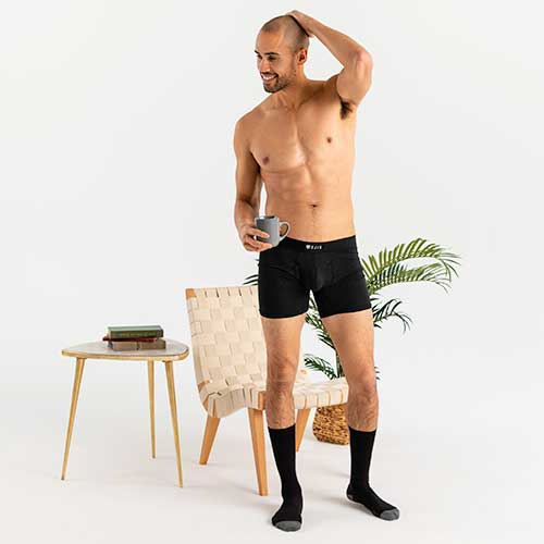 Sweat Proof Boxer Briefs Comfort Pouch
