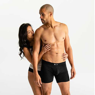 Sweat Proof Boxer Briefs with Fly - Ejis, inc.