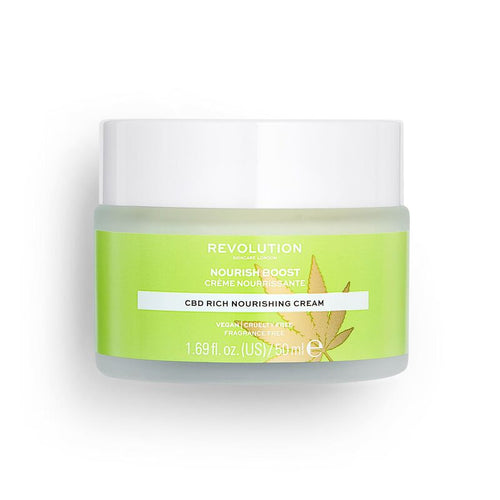 Revolution Beauty - CBD Nourish Boost Cream