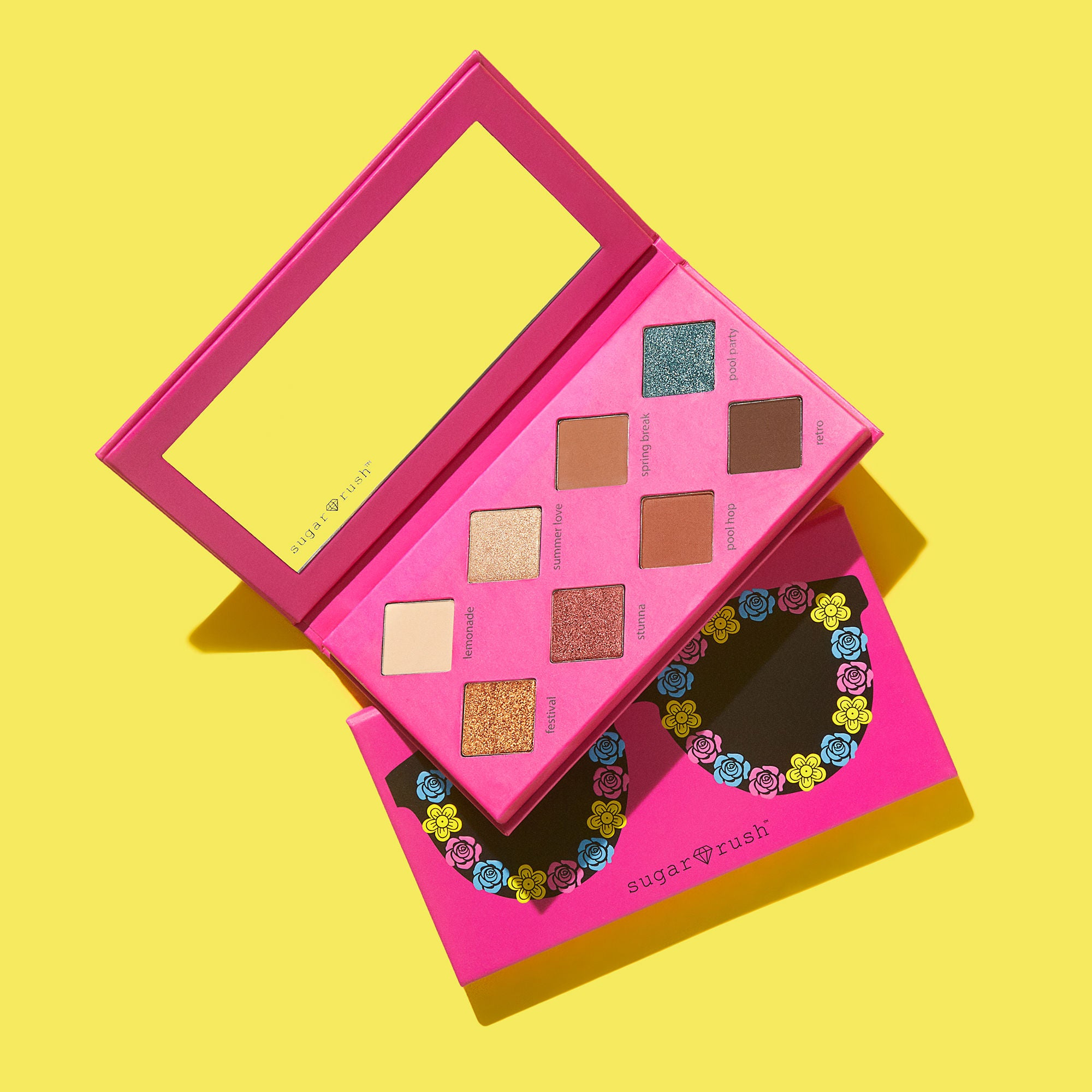Sugar Rush - keep calm, sunnies on eyeshadow palette