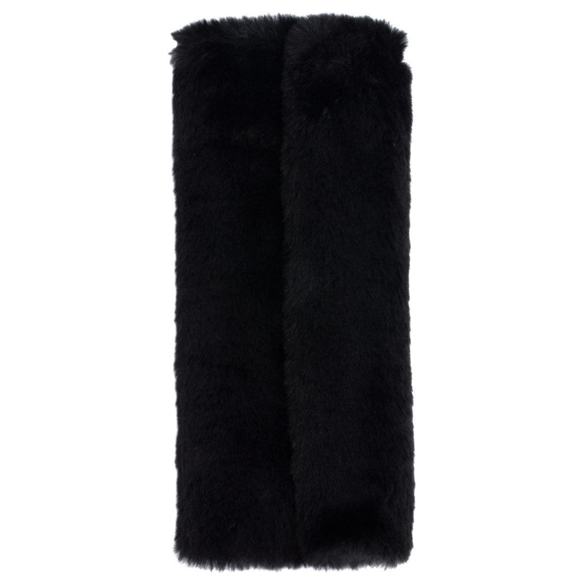 Faux Fur Brush Roll
