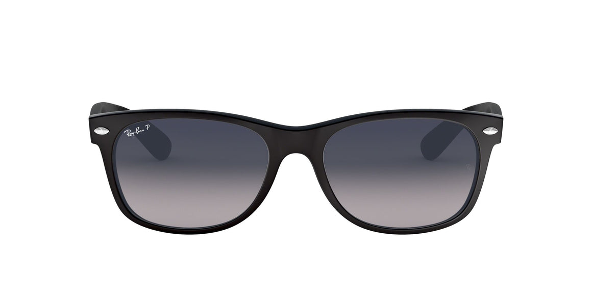 Ray-Ban 2132 New Wayfarer Matte Black Polarized
