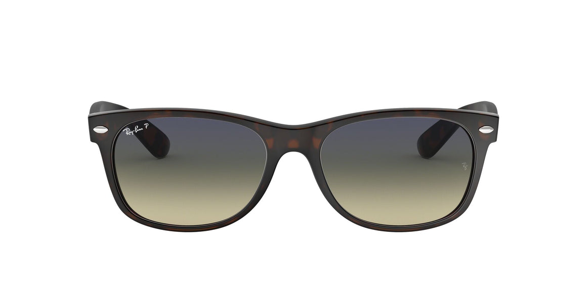 Ray-Ban 2132 New Wayfarer Matte Havana Polarized