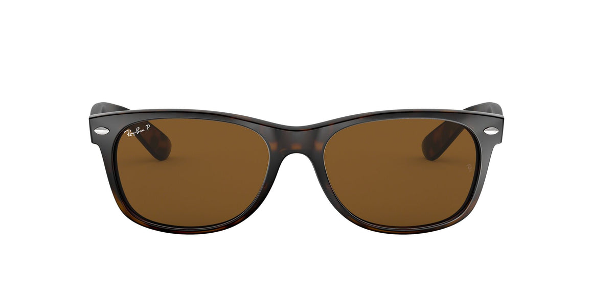 Ray-Ban 2132 New Wayfarer Tortoise Polarized