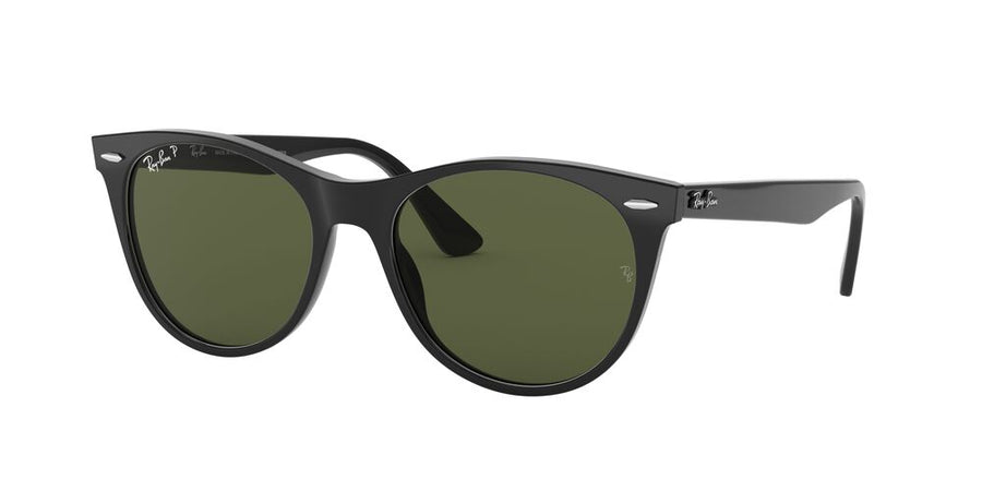 Ray-Ban 2185 Wayfarer II Black Polarized