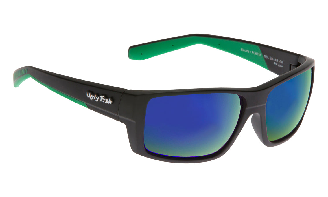 Ugly Fish PC Electra Matte Black and Green Revo