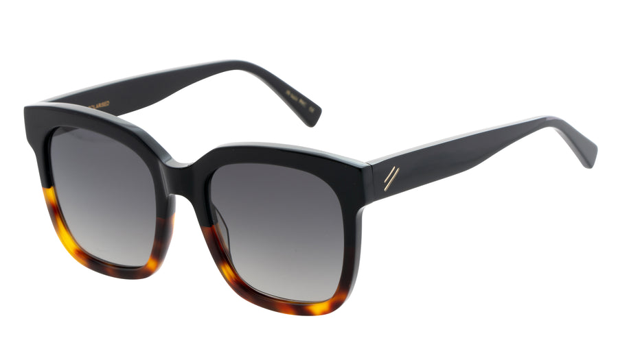Bask Laze Black/Dark Tort Polarised