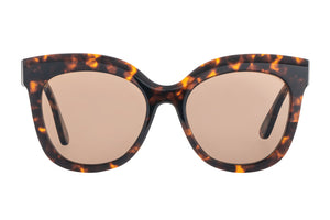 Bask Luna Dark Tort Polarised