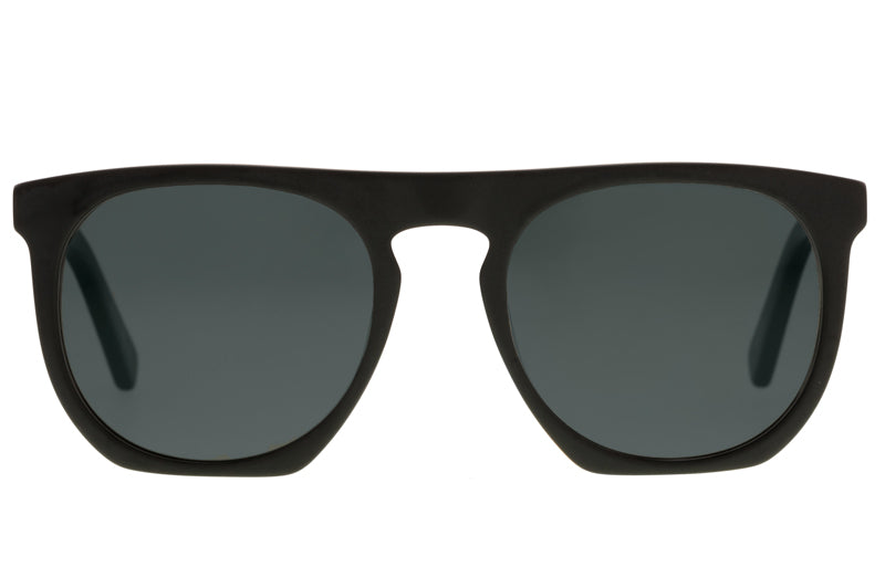 Bask Swell Matte Black Polarised