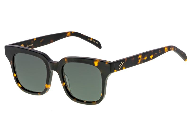 Bask Tide Matte Dark Tort Polarised