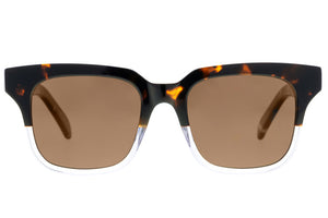 Bask Tide Tort/Clear Polarised