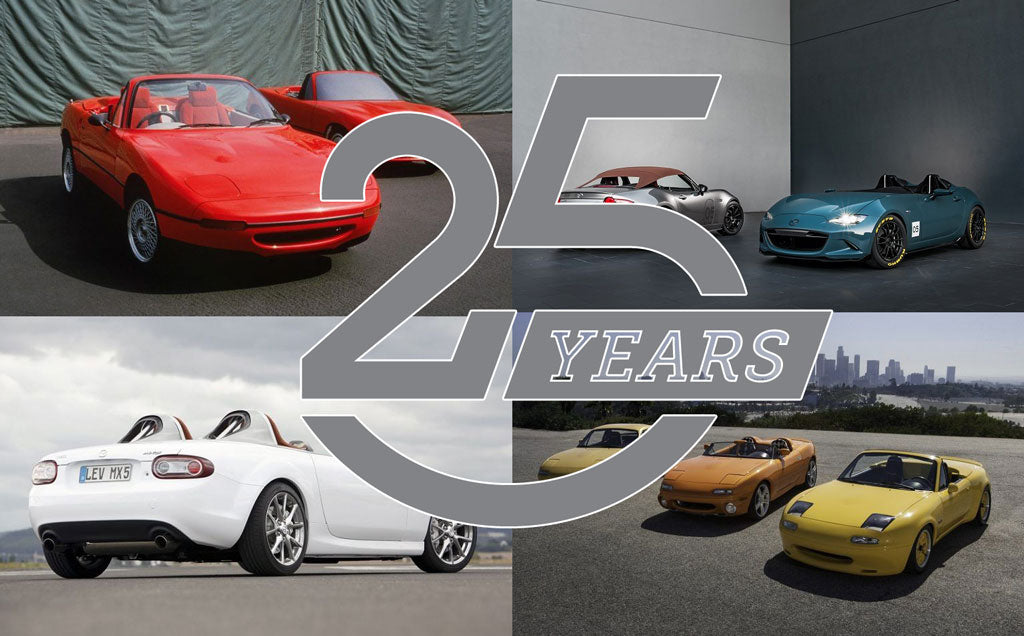 The Mazda MX-5 through history
