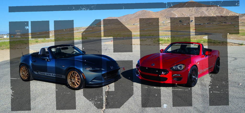 Mazda MX-5 ND vs. Fiat 124