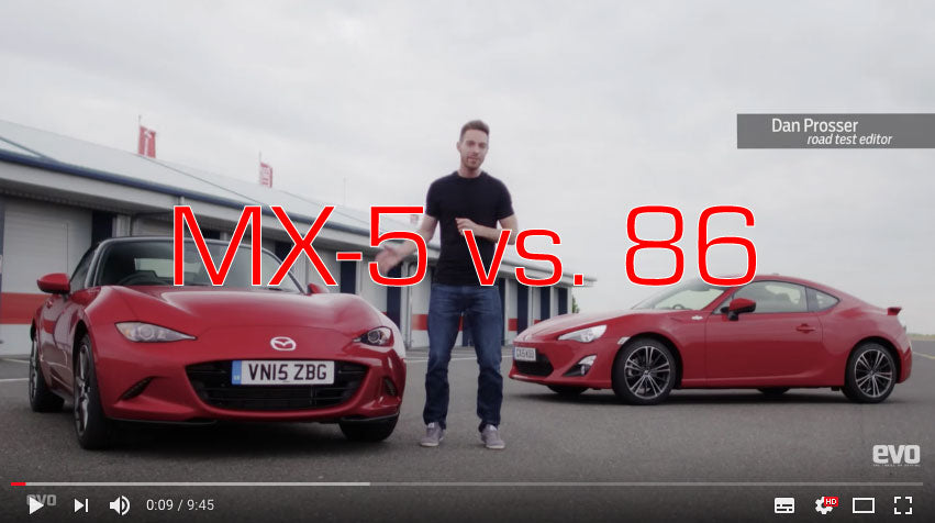 A real 'nail biter' - GT86 vs. Mazda MX-5 ND - Deadly Rivals