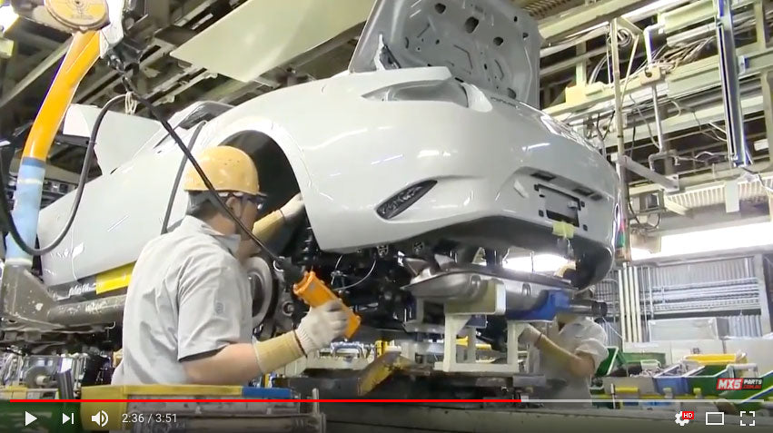 Mazda MX-5 Production Line