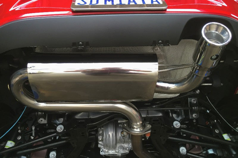 EXTRA EXTRA - RoadsterSport SUPER-Q Stainless Steel Premium Adjustable Sound Muffler ND GR-026