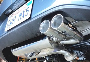EXTRA EXTRA - more details on the RoadsterSport SUPER-Q TWIN TIP Stainless Steel MX5 Exhaust To Suit ND Models