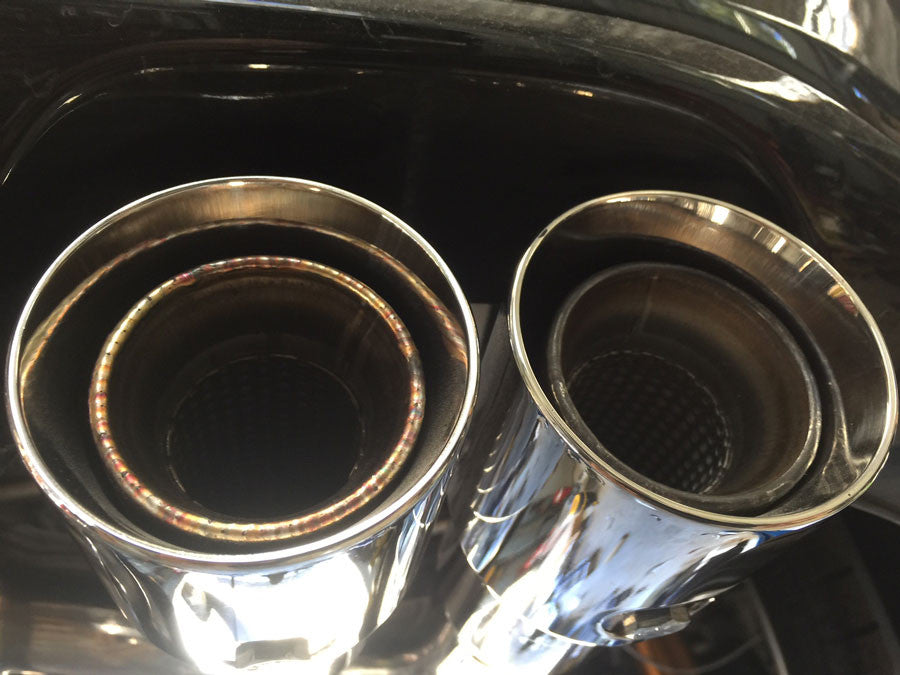 MX5 Twin Exhaust