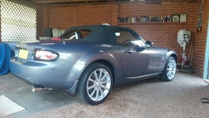 RoadsterSport Street Single MX5
