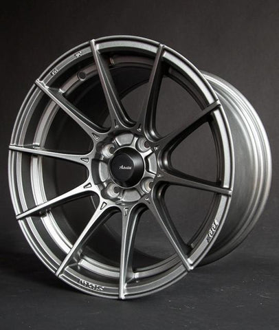 Advanti Racing Storm S1 15X9 Set Of 4 PCD 4x100 +35 Titanium