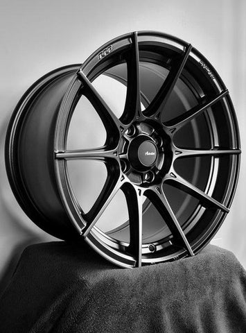 SET OF 4 Advanti Racing Storm S1 15X8  Set Of 4 PCD 4X100 Black 61-1386