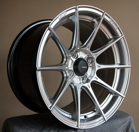 Advanti Racing Storm S1 15X8  Set Of 4 PCD 4X100 Hyper Silver