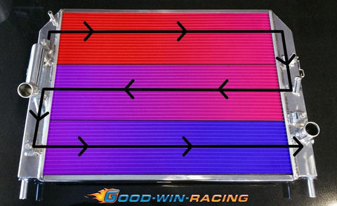 Goodwin Racing Triple-Pass Radiator - Suits NC Model MX5