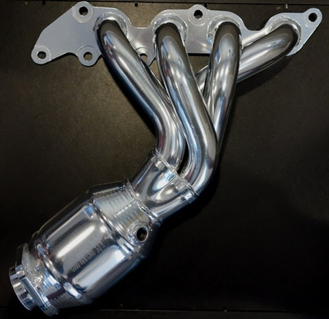 LF 2 LITRE Header with cat convertor, Ceramic finish.  NOT FOR MX5!! 61-1155C GR-020C