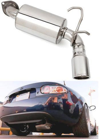 RoadsterSport STREET SINGLE MX5 Muffler NC